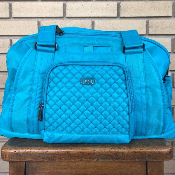 Lug Handbags - Lug East West Overnight Bag with RFID - Propeller f5b1341df64ff